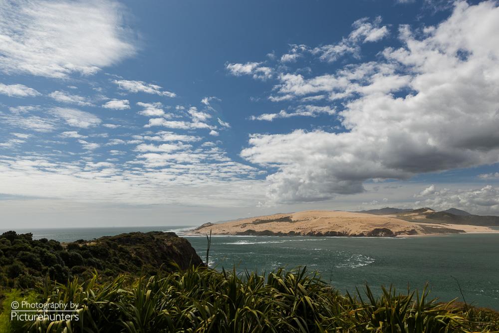 Blick über eine Bucht