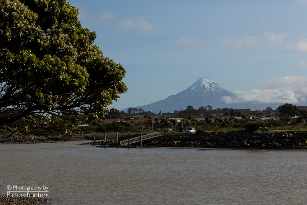 Vulkan Mount Taranaki