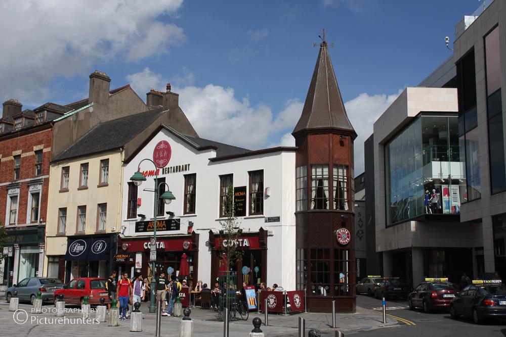 Straßenzeile in Cork