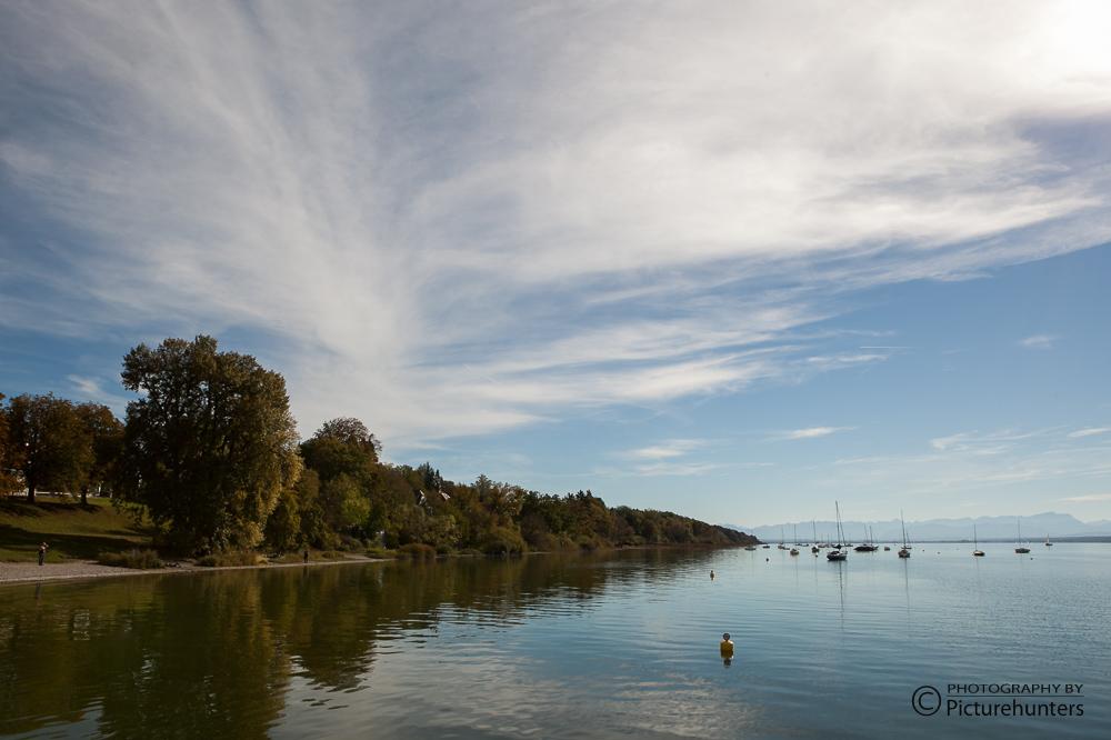 Wolken über dem Ammersee