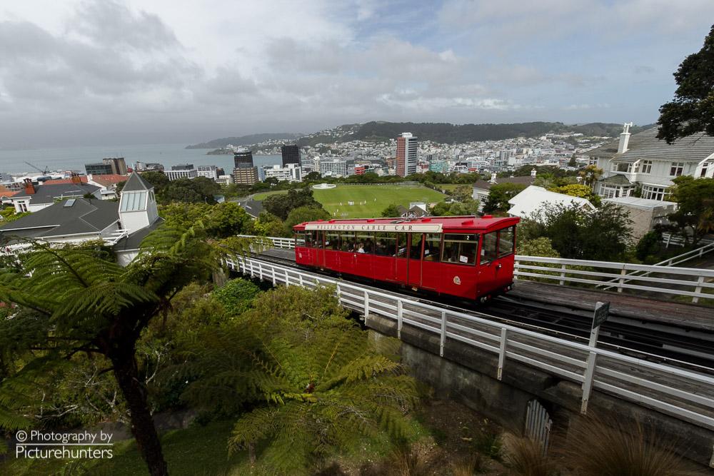 Zahnradbahn in Wellington   NZ