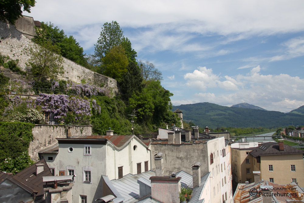 Blick über Salzburg