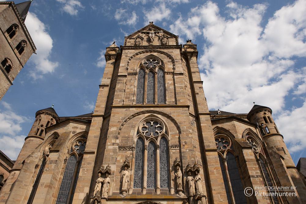 Seitenschiff vom Dom in Trier