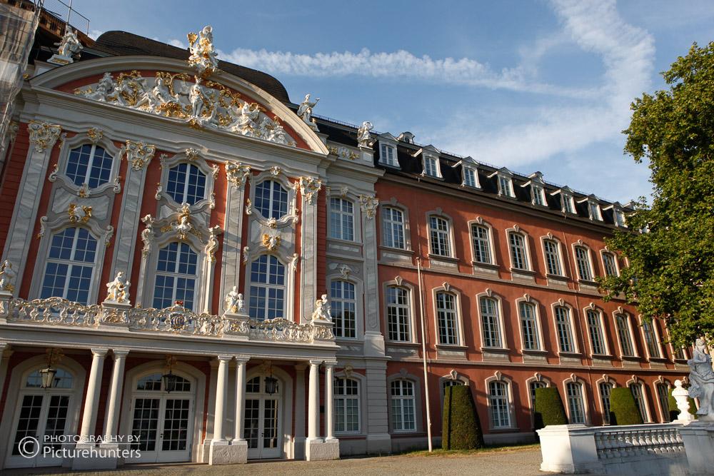 Seitenansicht Trierer Schloss