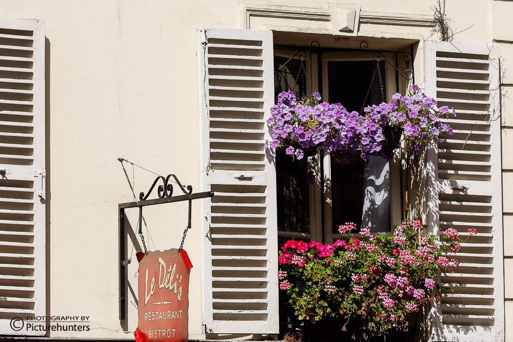 Fenster am Montmatre | Paris