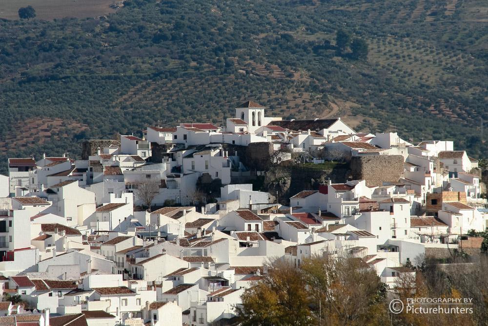 Blick auf El Burgo