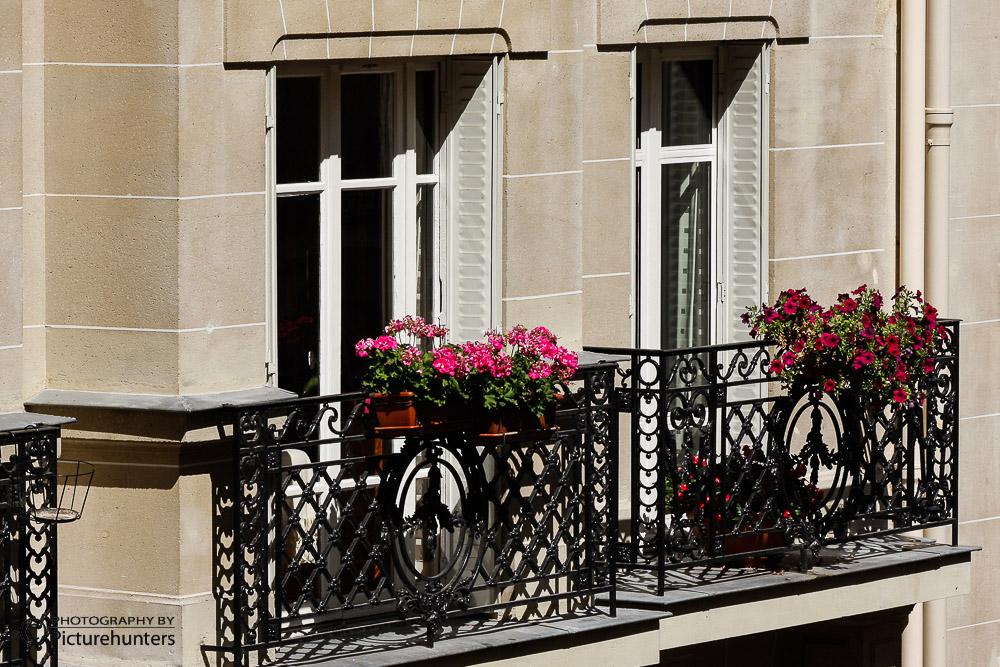 Fenster und Balkons in Paris