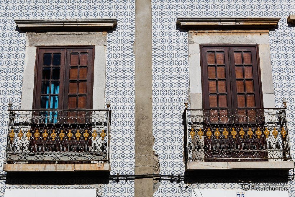 Balkontüren in Tavira