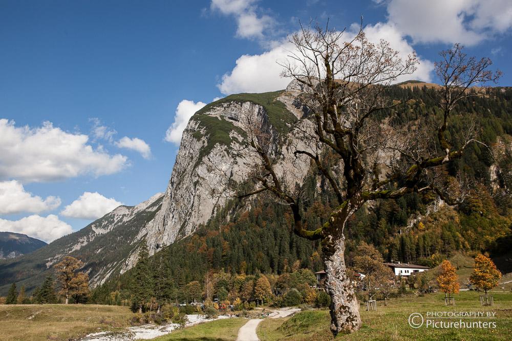 Bergwelt am Ahornboden