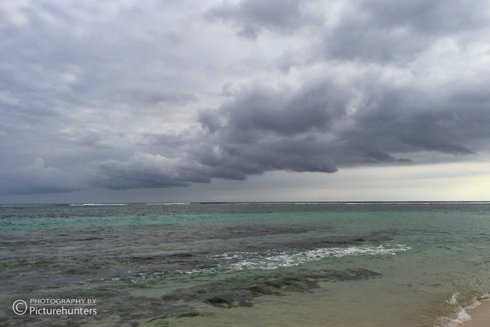 Wolkenstimmung an der Südküste