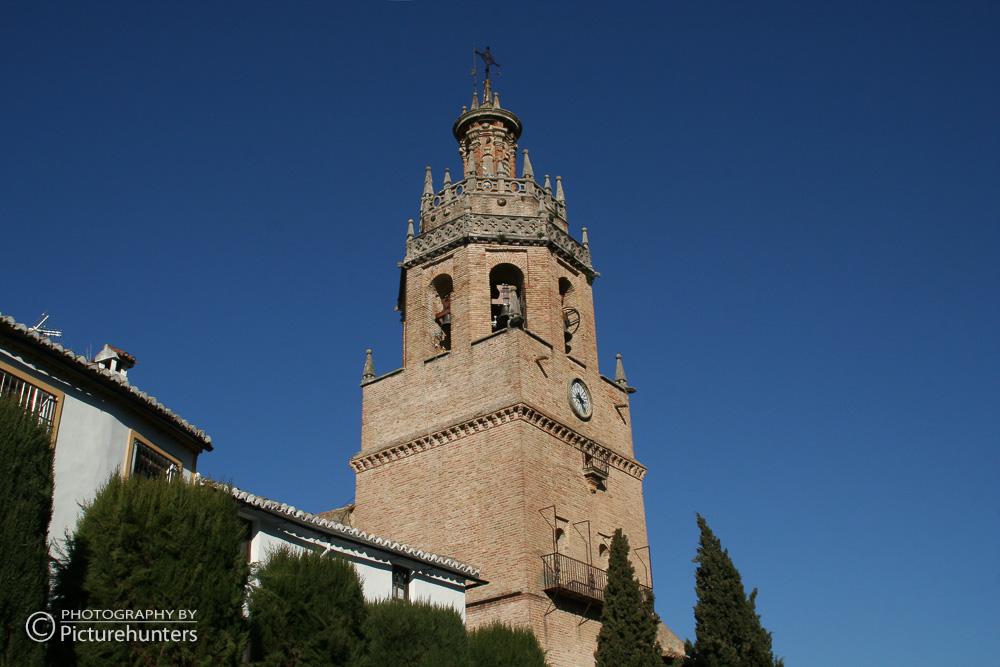Kirchturm in Ronda