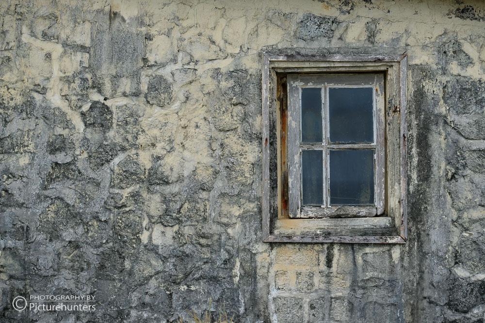 Fenster an altem Haus