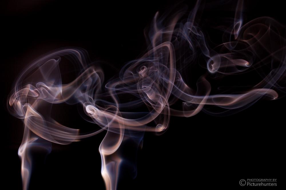 Rauch im Gegenlicht
