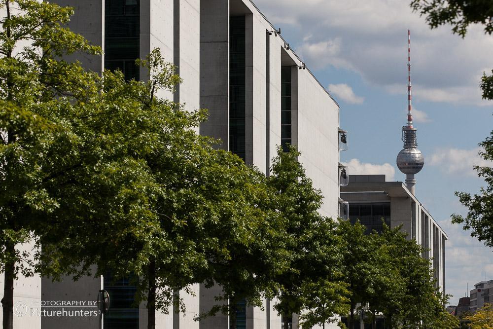 Blick zum Fernsehturm