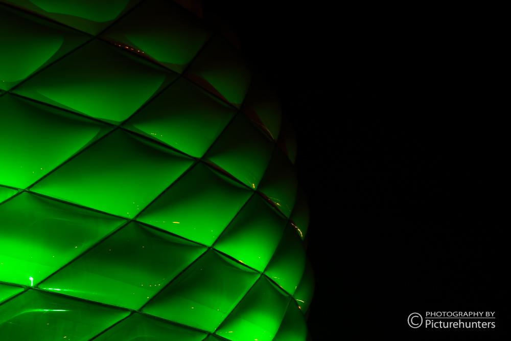Allianz Arena am St. Patricks-Day