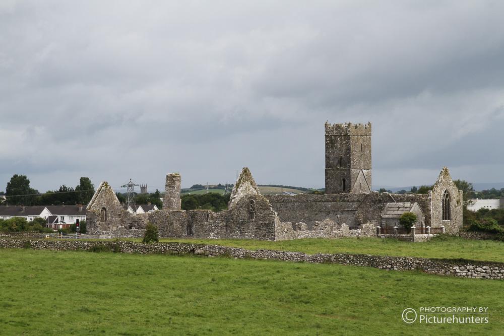 Kirchenruine in Irland