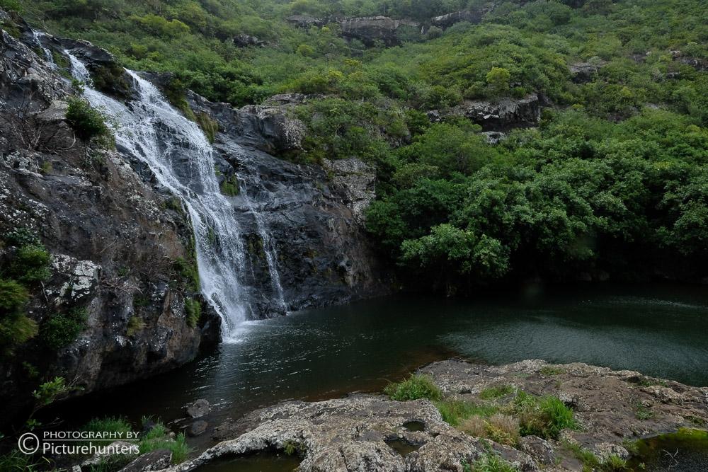 Seven Cascades im Regen