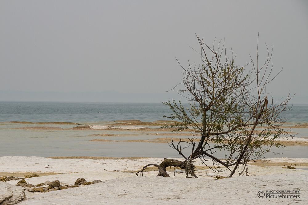 Am Strand von Sirmione
