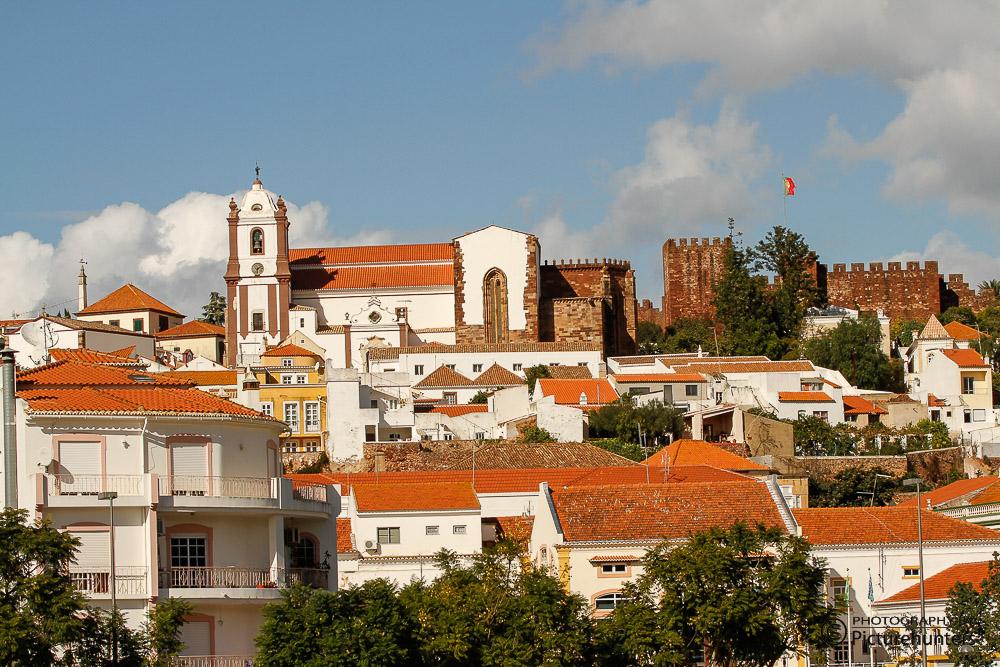 Blick auf die Burg von Silves