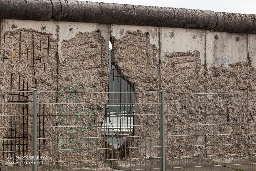 Reste der Mauer