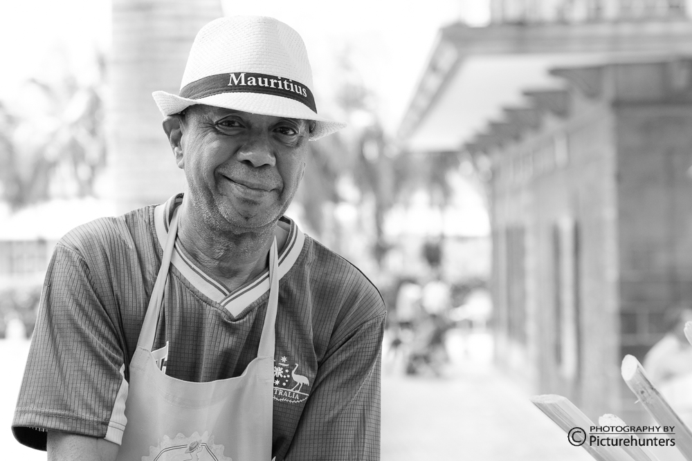Einheimischer in Port Louis