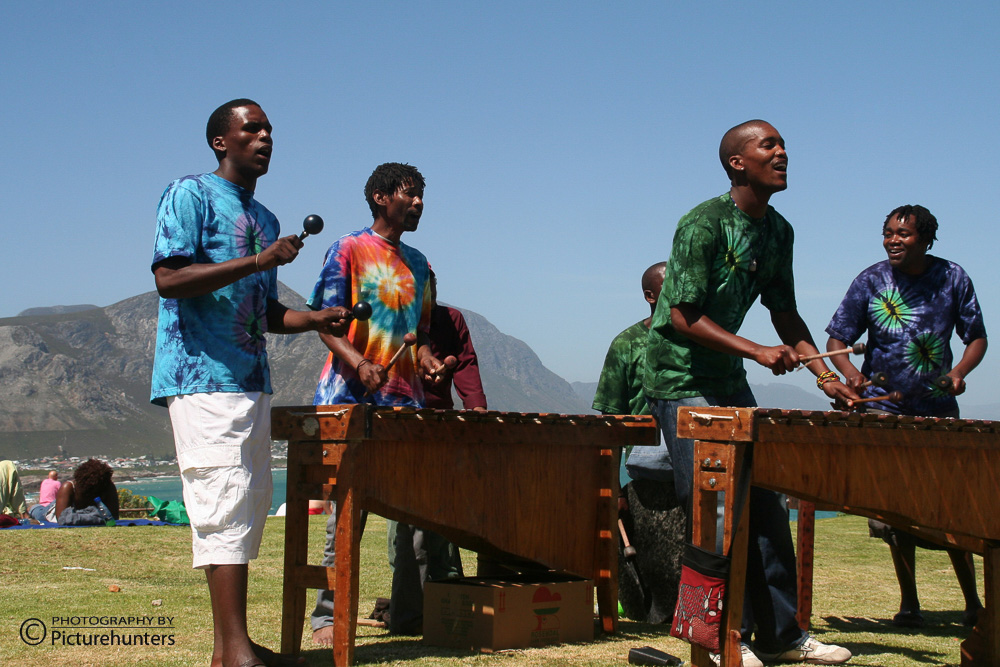 Musiker in Hermanus