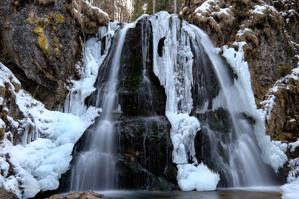 Wasserfall am Schliersee