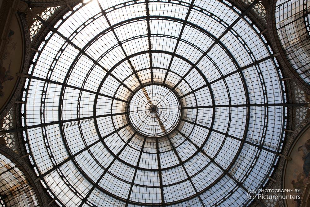 Glasdach in der Galerie | Mailand