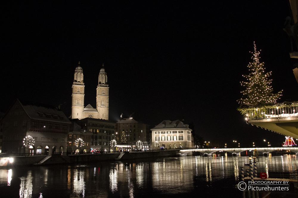 Leuchtendes Zürich