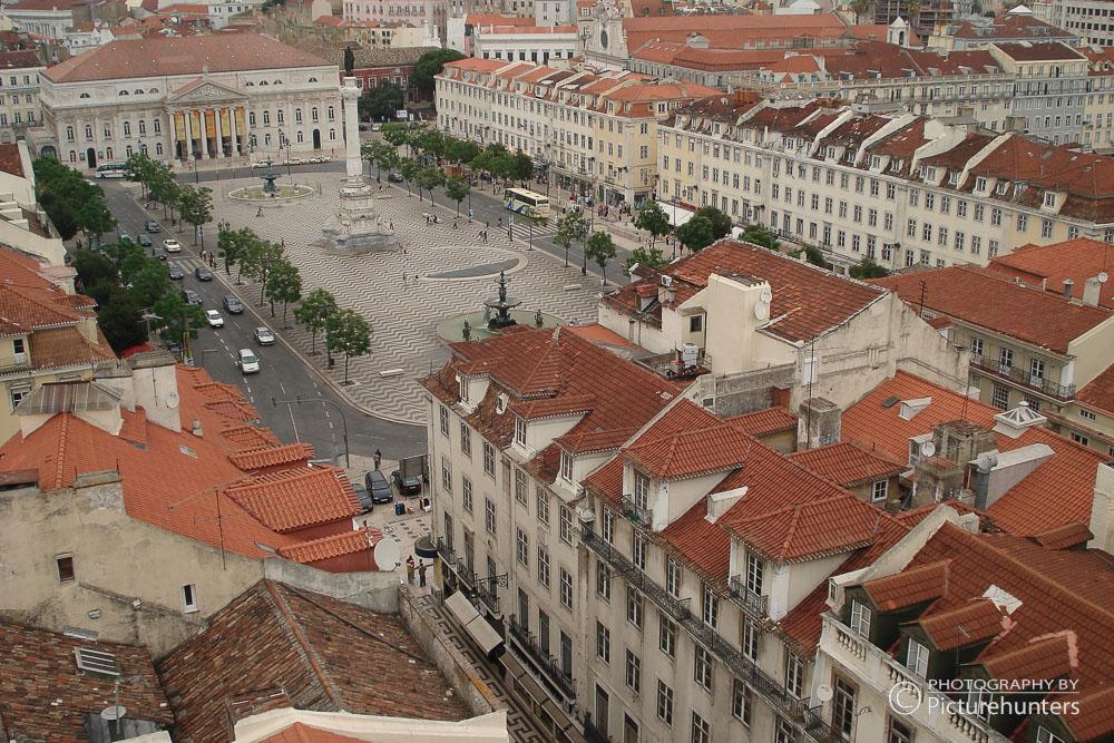 Blick auf die Altstadt von Lissabon