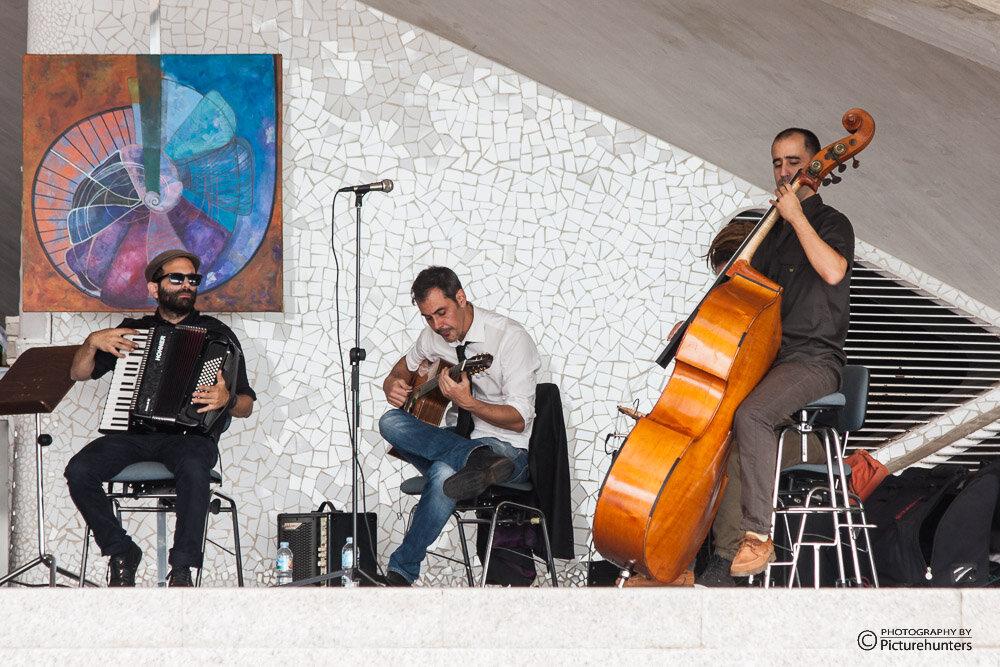 Musiker in Santa Cruz