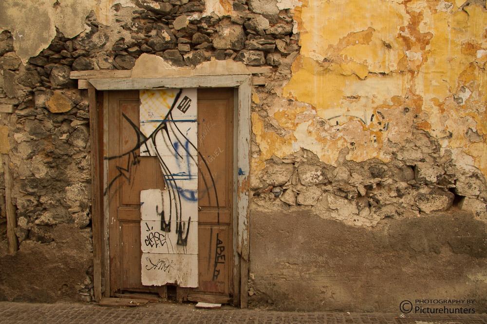 Alte Tür in Santa Cruz