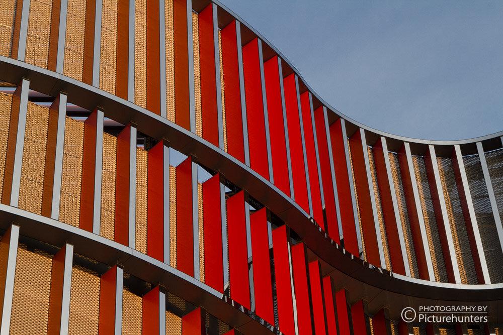 Bunte Architektur