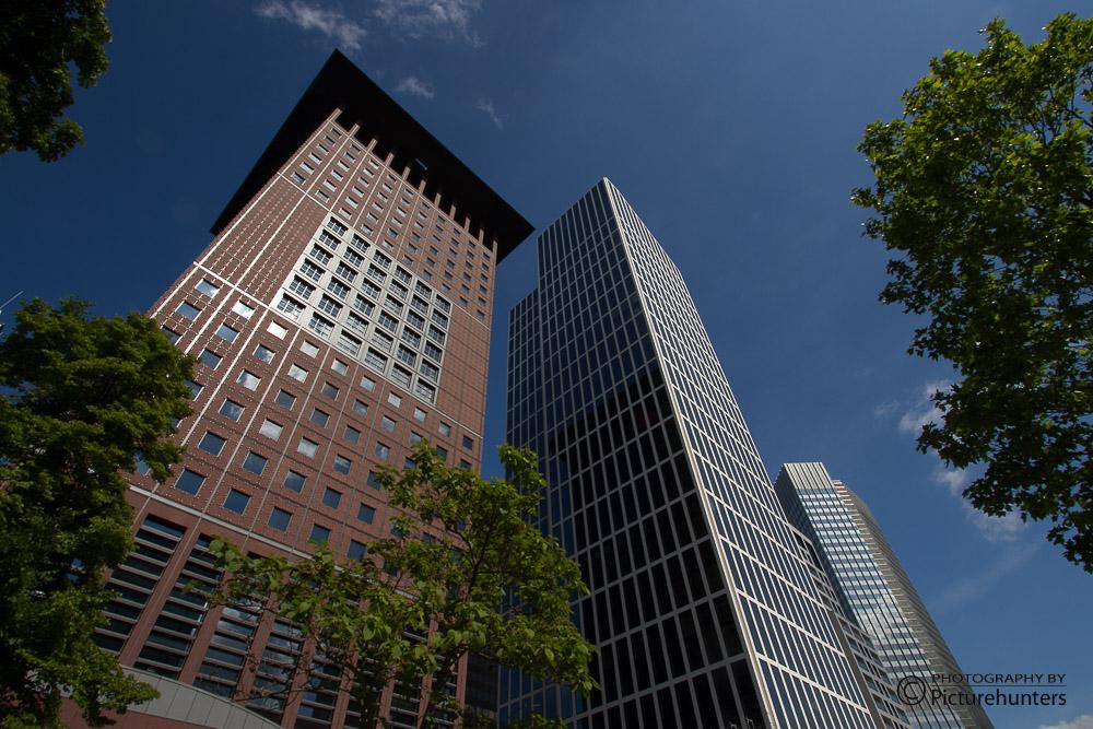 Hochhäuser in Frankfurt