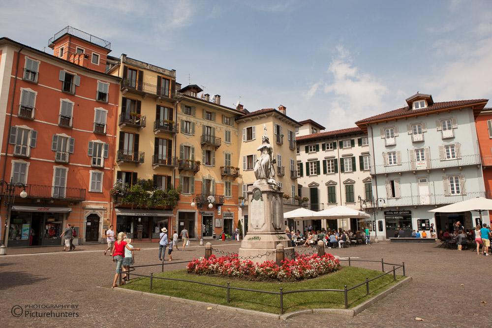 Stadt am Lago Maggiore