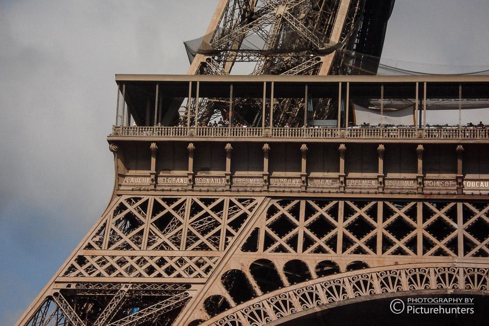 Ein Detail vom Eiffelturm