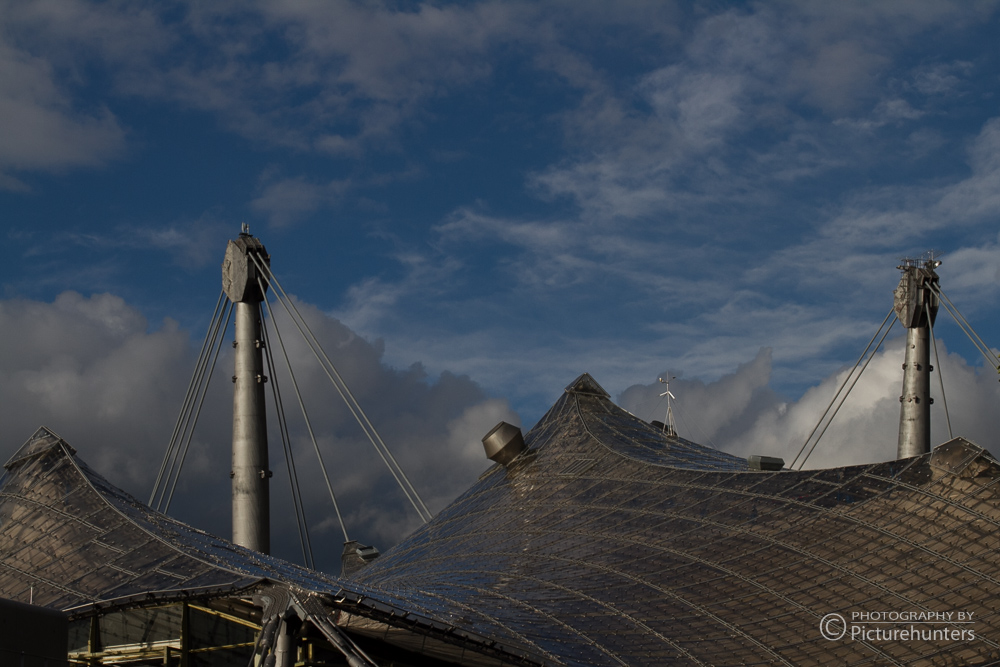 Blick über das Olympiadach
