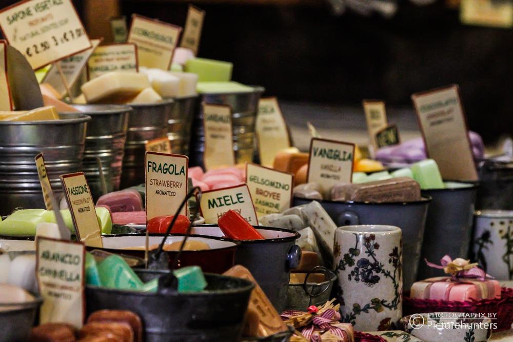 Seifenangebot in Borghetto