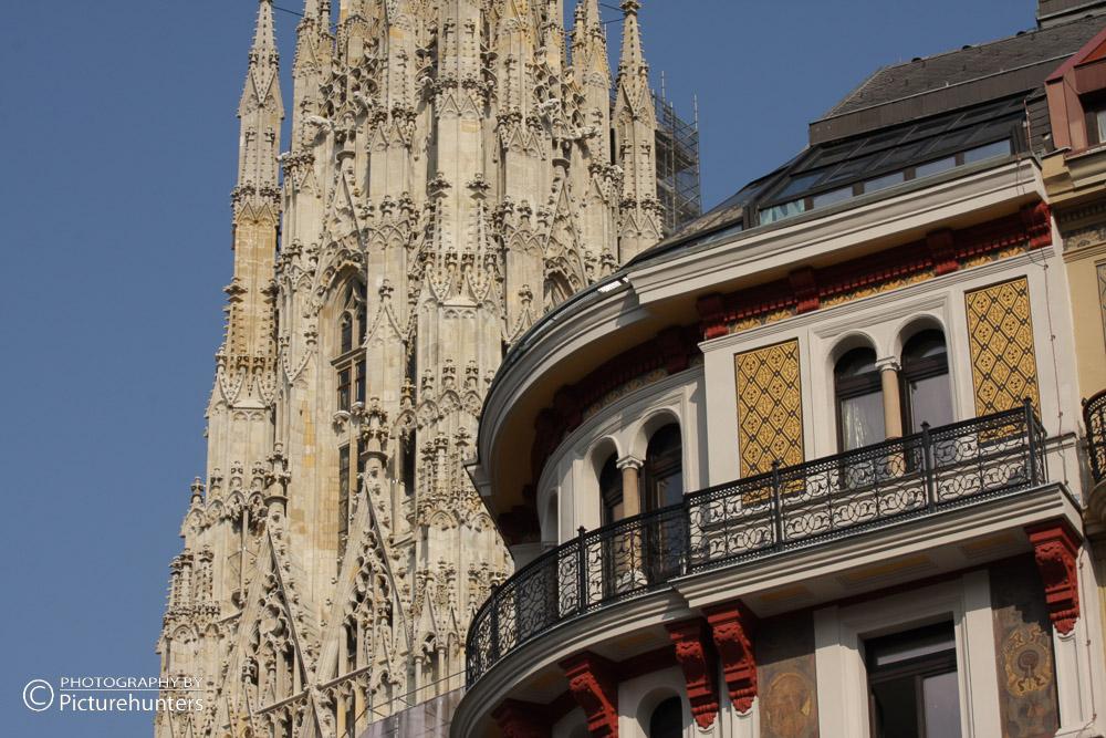 Turmdetail vom Stephansdom