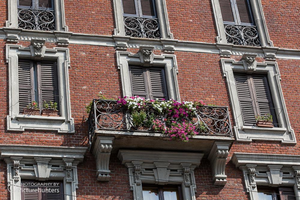 Fenster und Balkon | Mailand