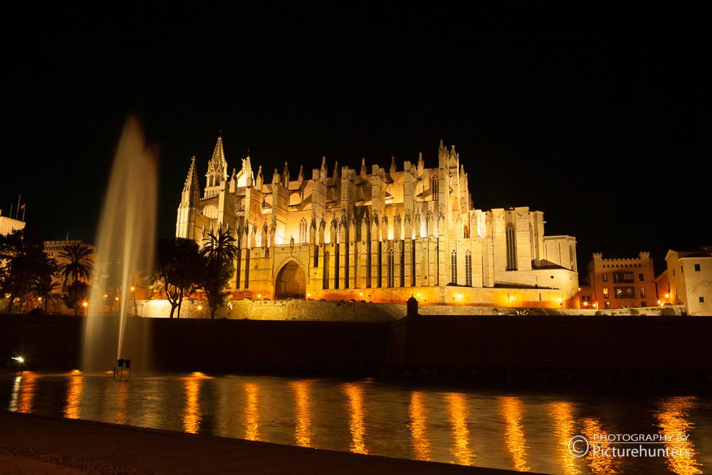 Kathedrale bei Nacht | Mallorca