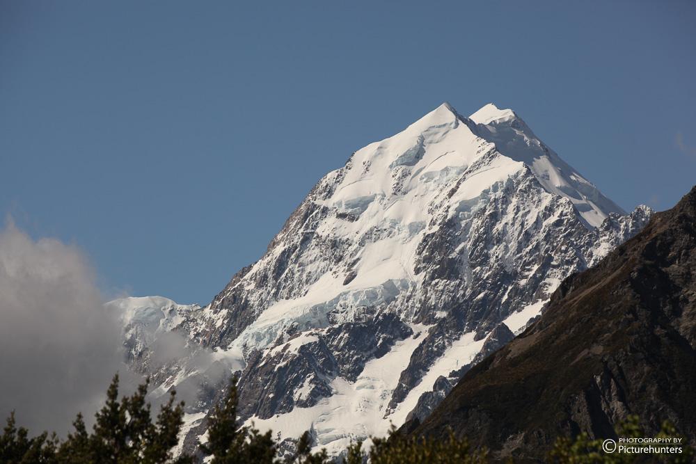 Mount Cook aus der Nähe