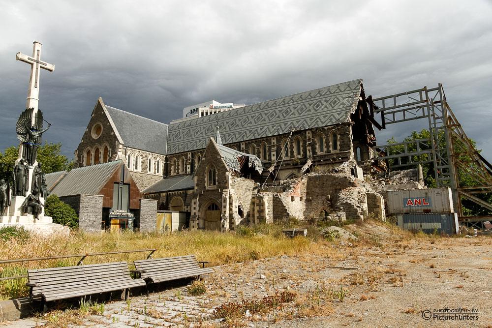 Zerstörung in Christchurch