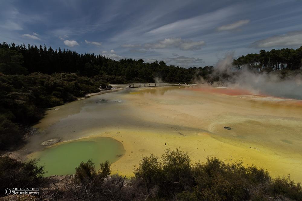 Farbenspiel in Waiotapu
