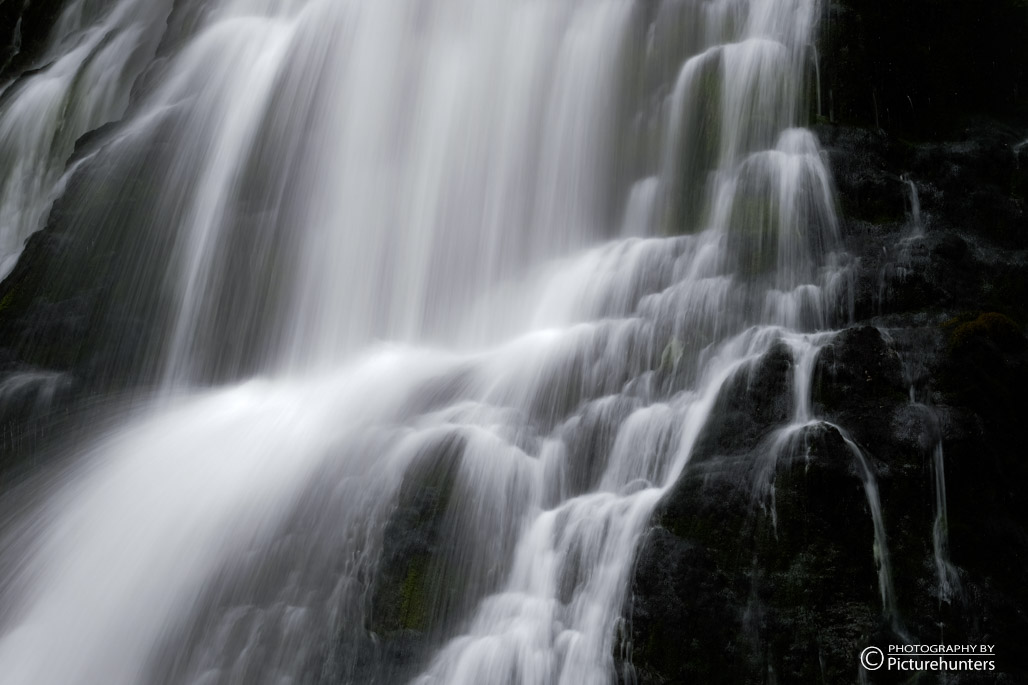 Kaskaden des Gollinger Wasserfalls