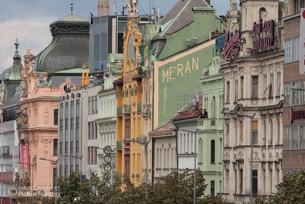 Straßenzeile in Prag