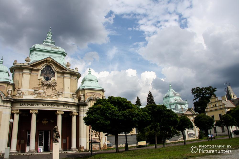 Wolken über Prag
