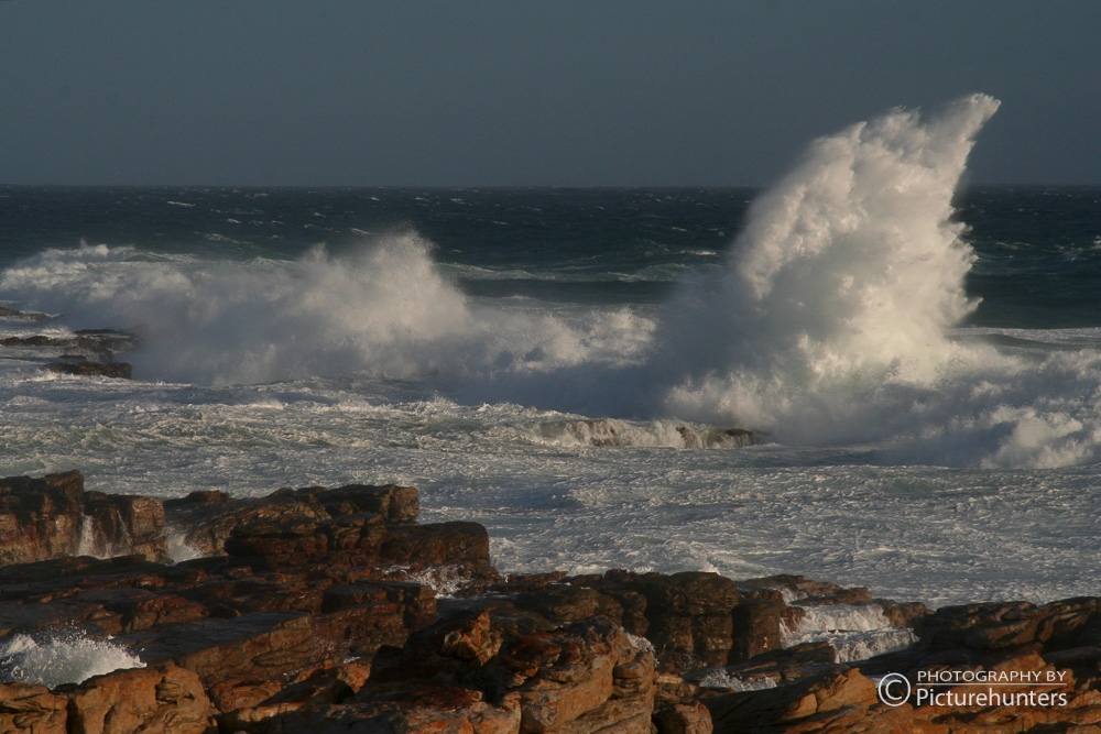 Wellen bei Port Elizabeth
