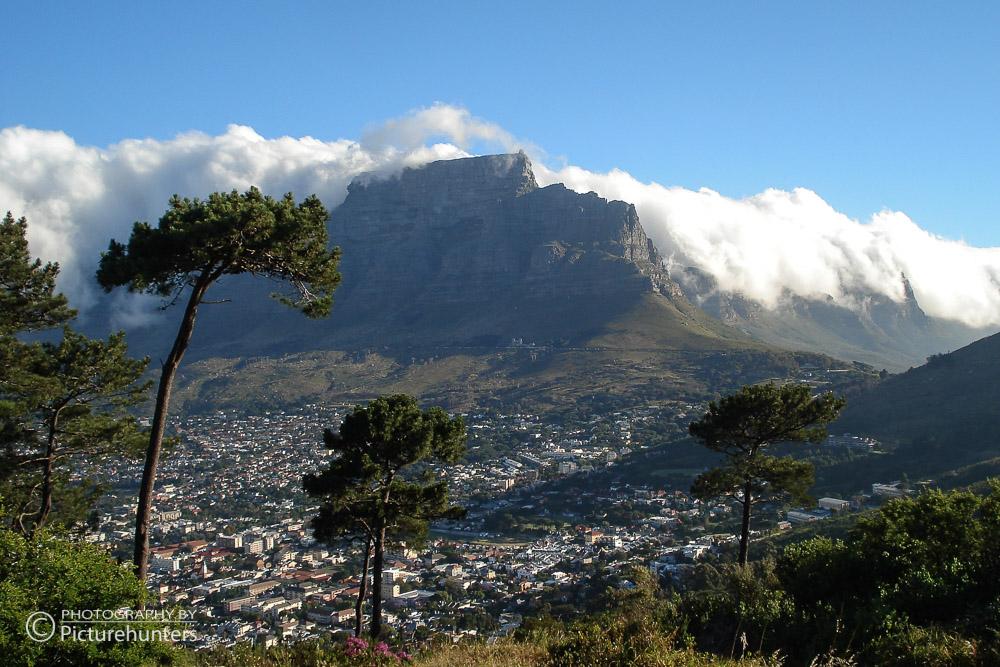 Blick auf den Tafelberg   SA