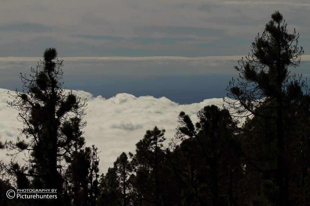 Dicke weiße Wolken